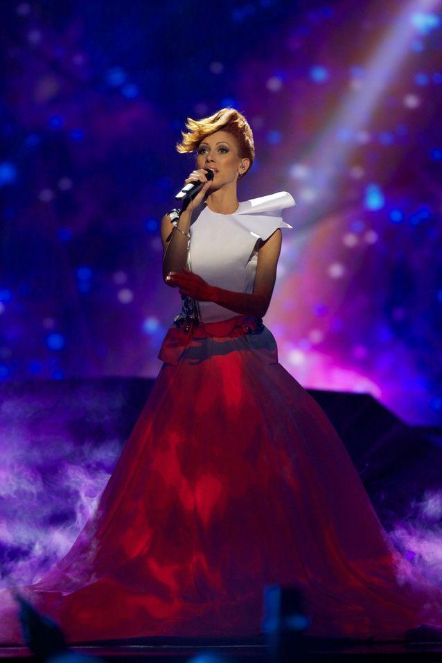 Coiffure Eurovision, Aliona Moon   Moldavie 2013
