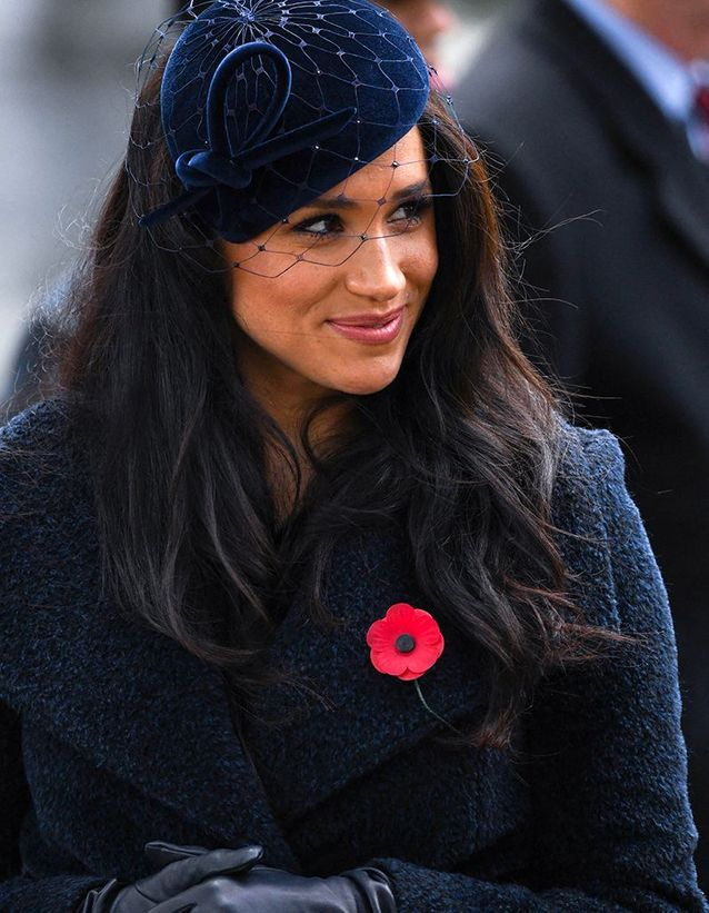 Le chapeau bibi de Meghan Markle