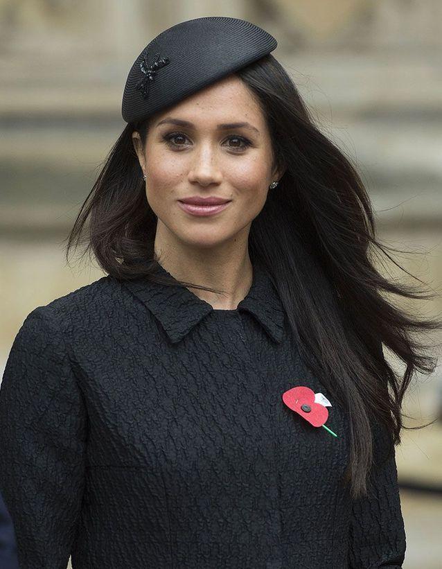 Le chapeau façon béret de Meghan Markle