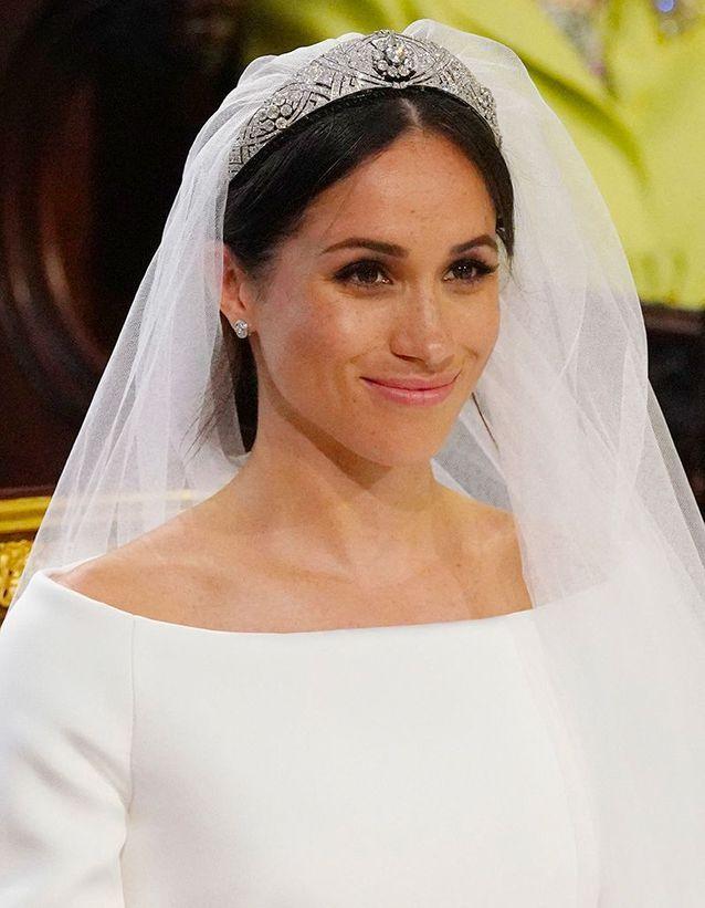 Le chignon royal de Meghan Markle pour son mariage