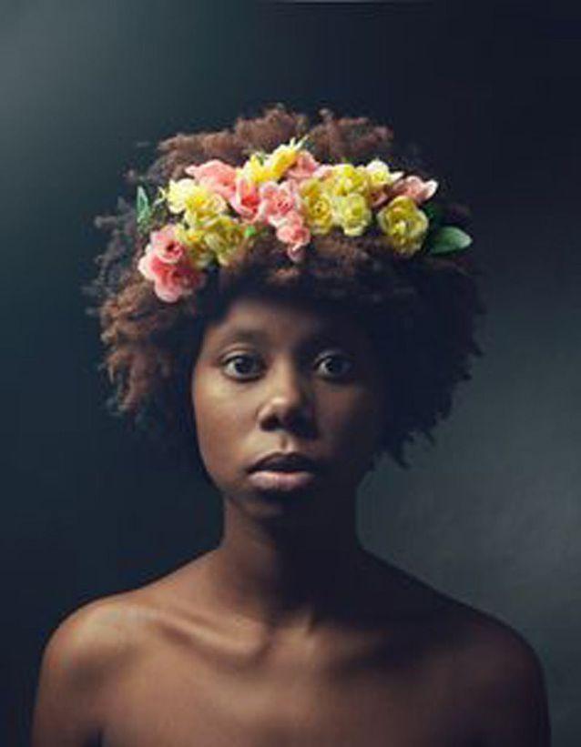 Coiffure naturelle afro