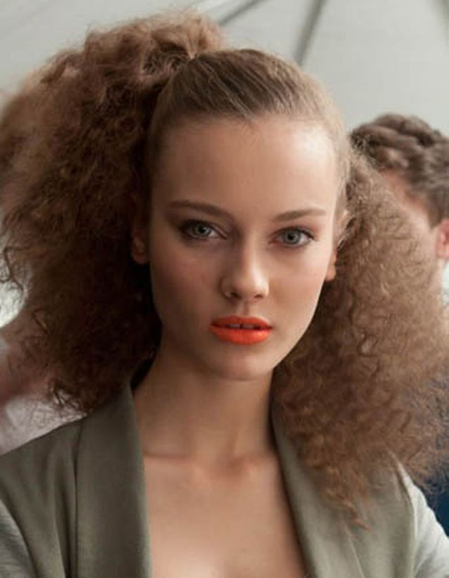 Coiffure naturelle cheveux crépus