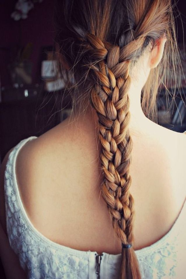 Coiffure naturelle pour cheveux longs