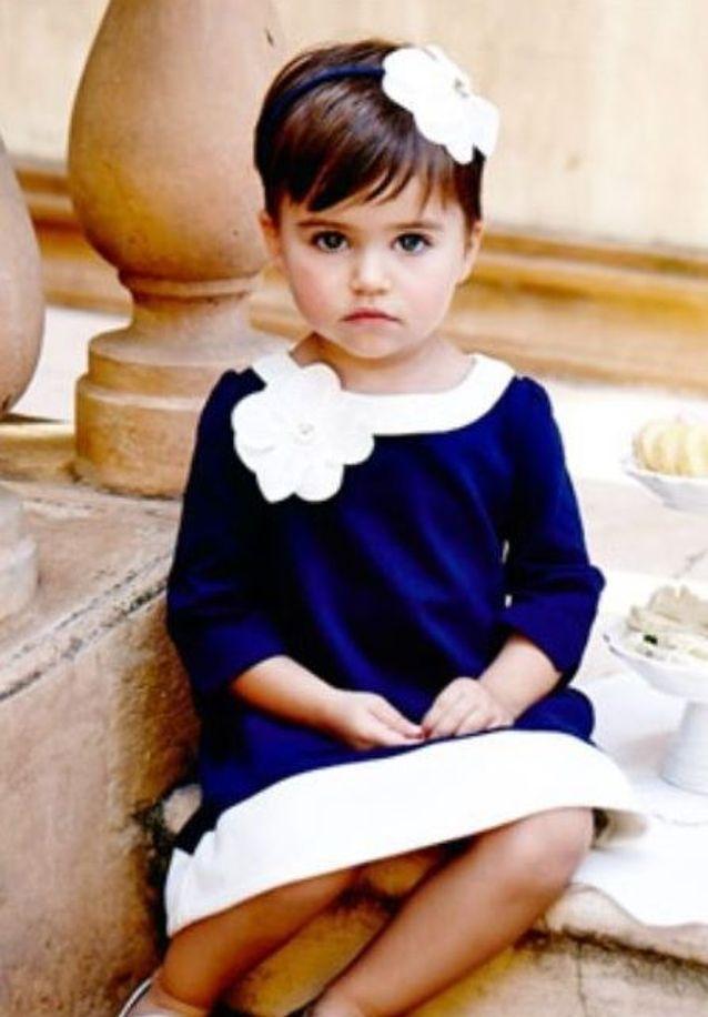 Coiffure petite fille coupe courte fleur - 45 coiffures de petite fille qui changent des ...