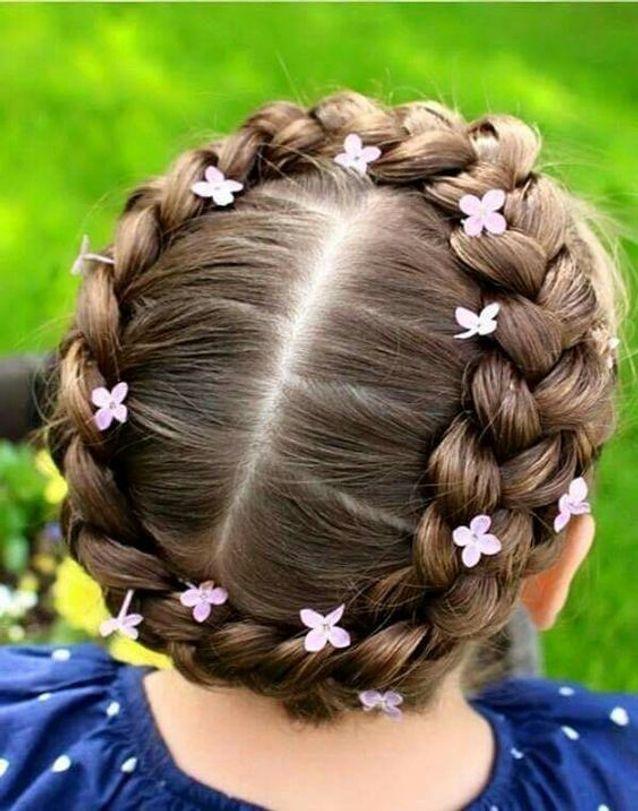 coiffure petite fille pour un mariage - 45 coiffures de