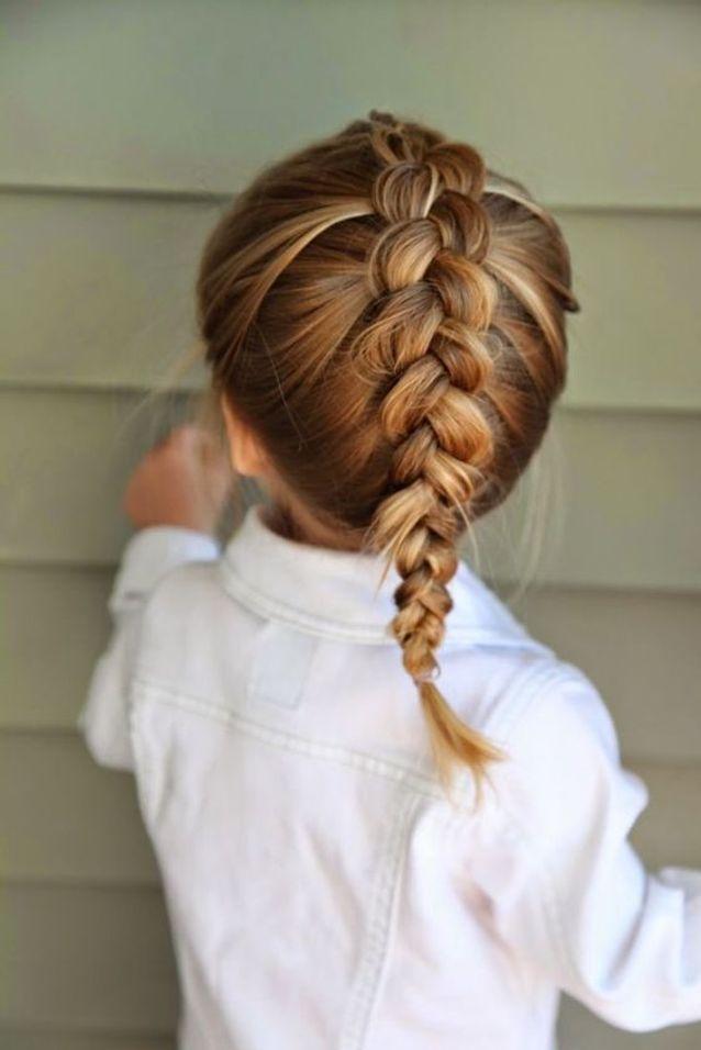 coiffure petite fille tresse africaine - 45 coiffures de