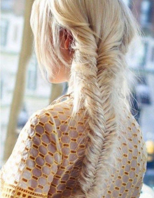 Coiffure romantique cheveux fins