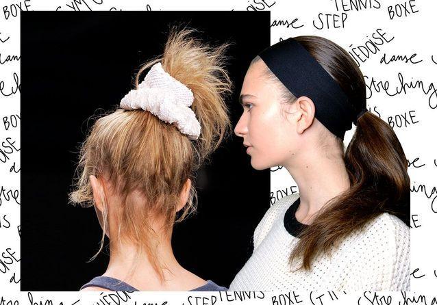 26 idées de coiffures pratiques pour le sport