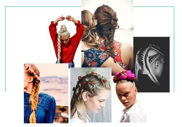 30 coiffures tressées pour passer les fêtes en beauté