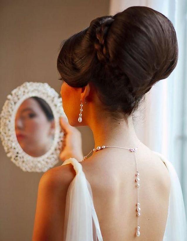 Coiffure Vintage Chignon De Mariage Coiffure Vintage Nos Plus Belles Inspirations Pour Un Look Glamour Elle