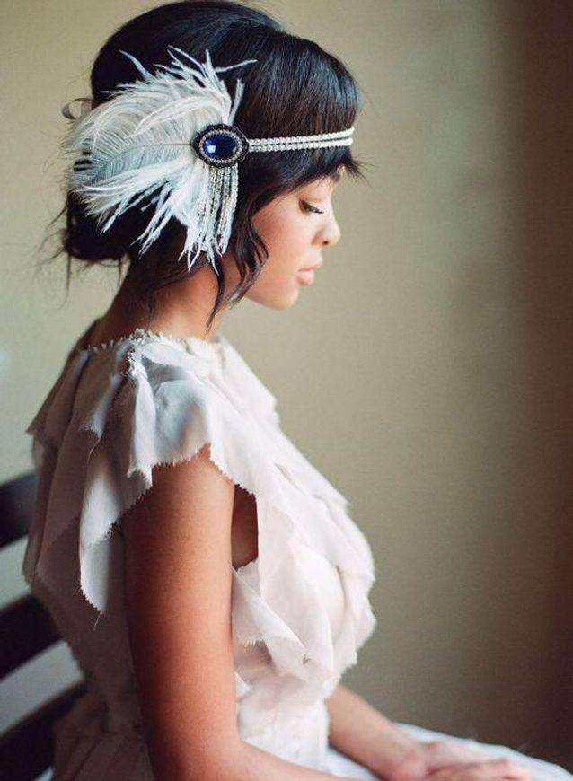 Coiffure vintage headband