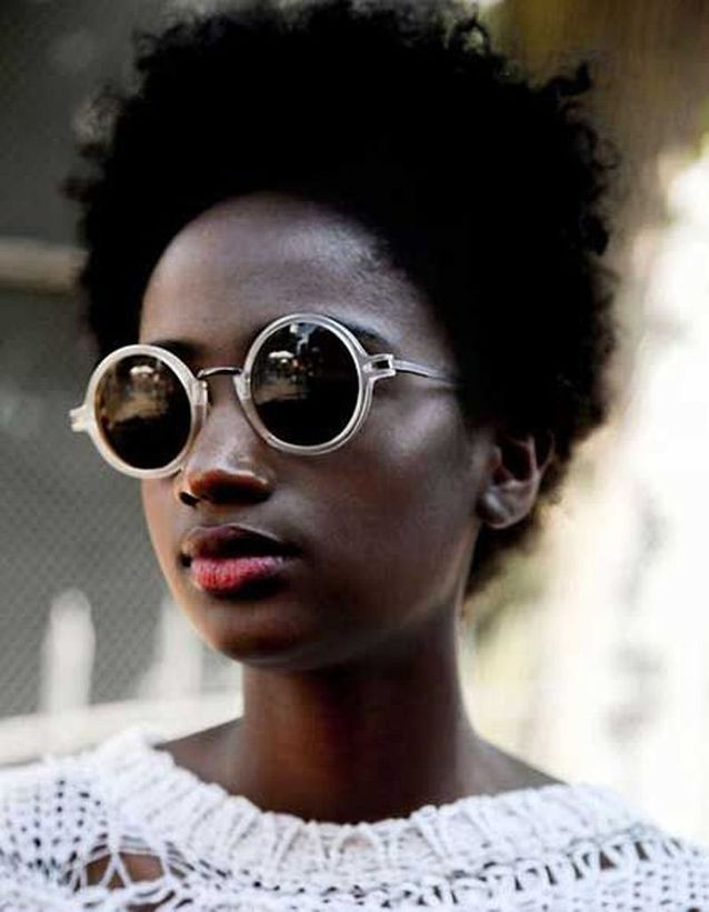 Cheveux afro naturel hiver 2015