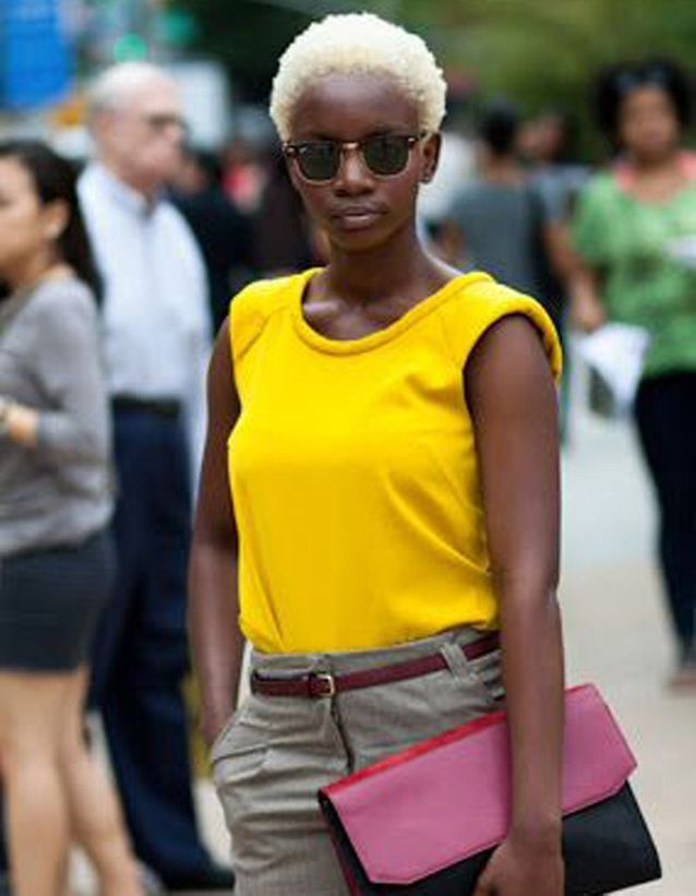 Coupe afro courte hiver 2015