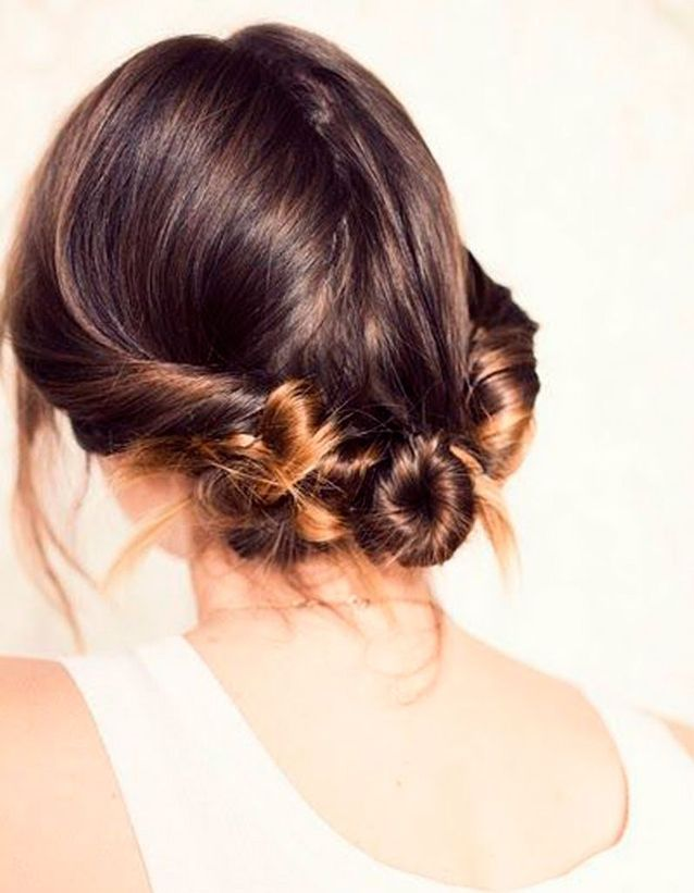 Coiffure cheveux mi-longs mariage