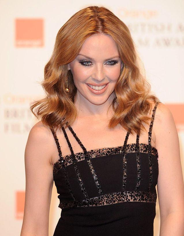 Après : Kylie Minogue rousse