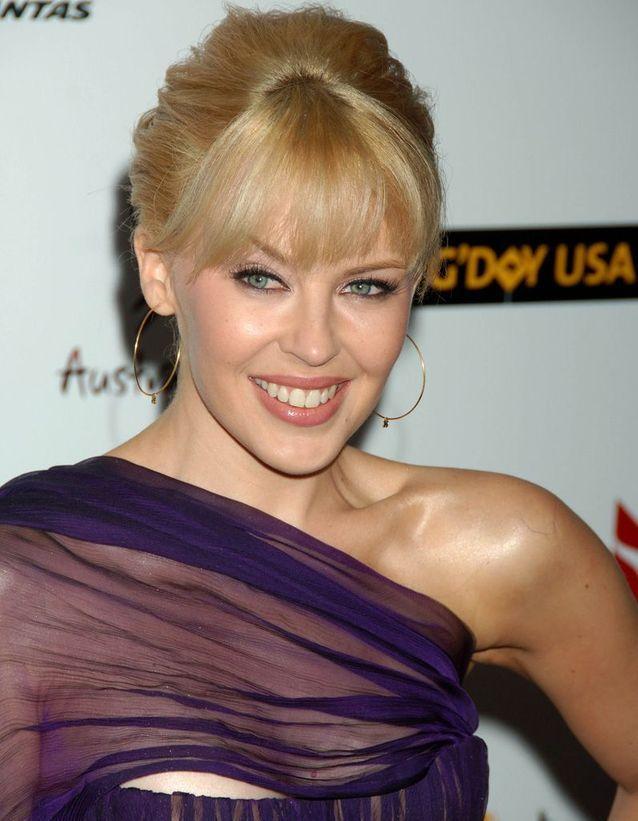 Avant : Kylie Minogue blonde