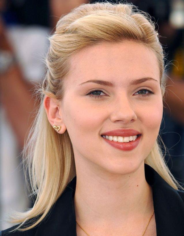 Avant : Scarlett Johansson blonde