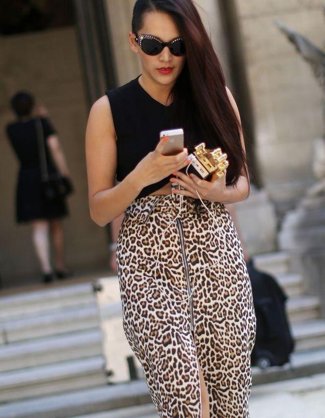 Le long en one shoulder glamour