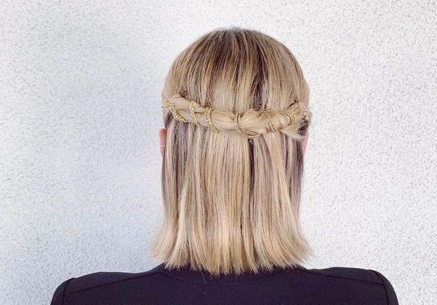 11 coiffures stylées pour upgrader des cheveux lisses