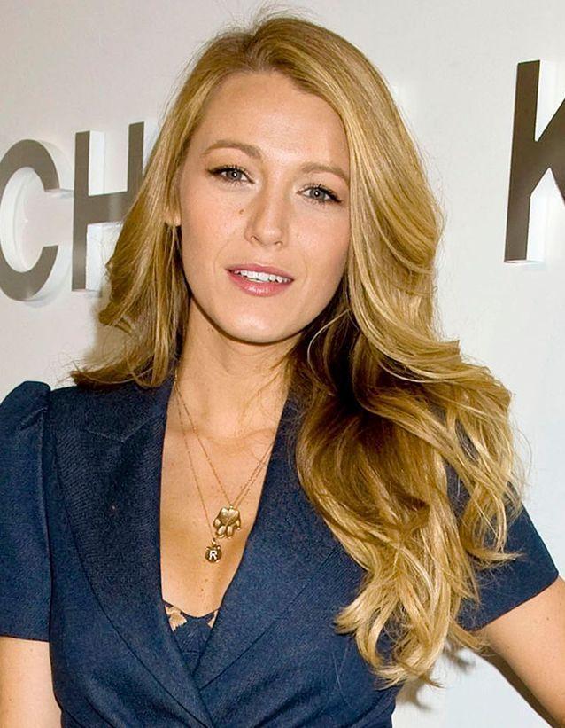 Blake Lively et sa chevelure blonde brillantissime