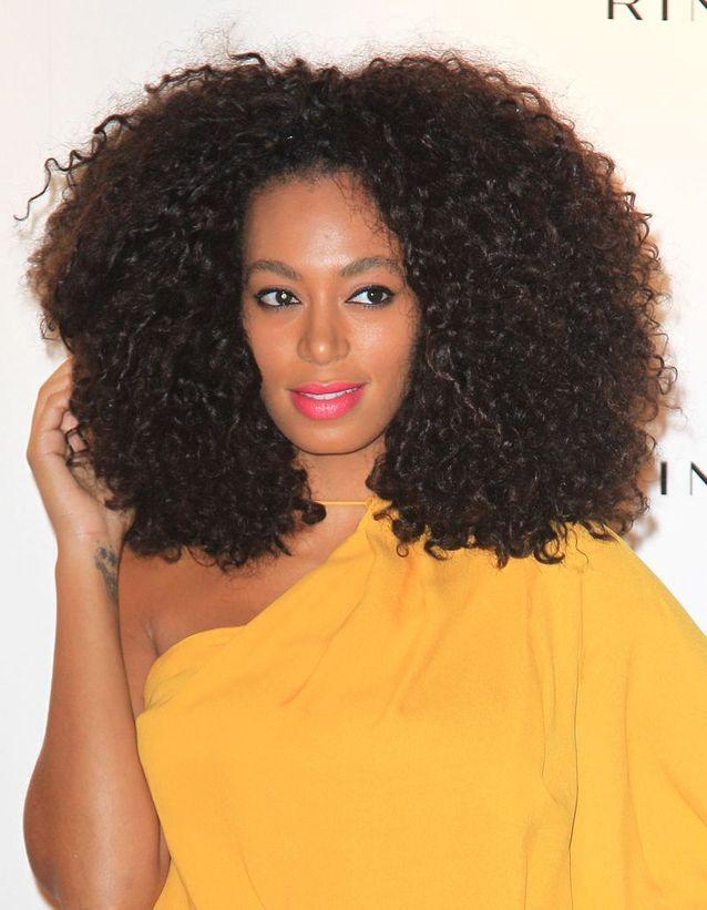 Solange Knowles et ses cheveux naturels