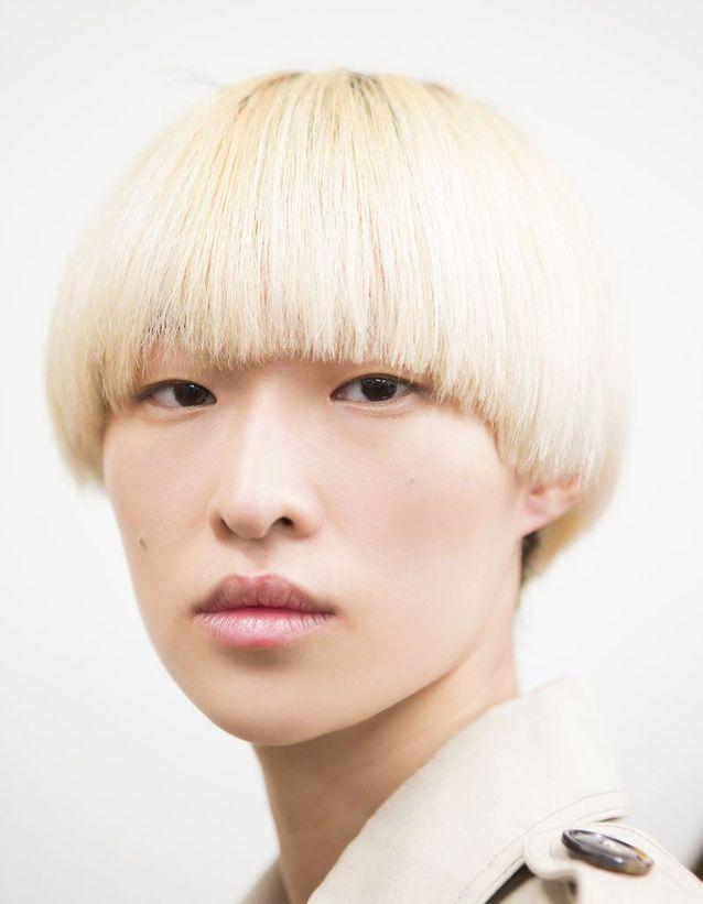 Coupe au bol blond