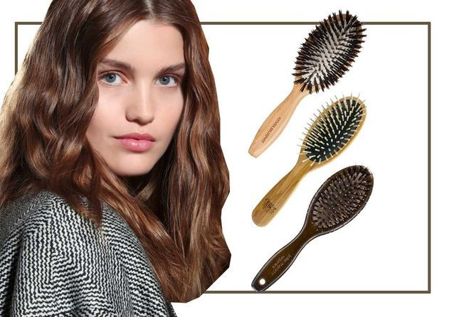 Les meilleures brosses pour des cheveux brillants
