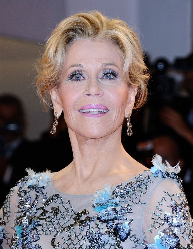 Jane Fonda blonde