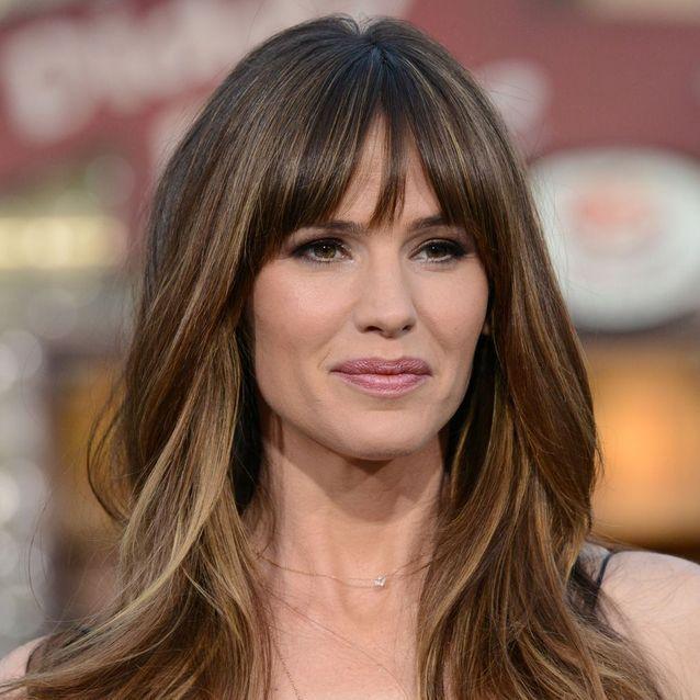 La frange rideau de Jennifer Garner , Notre envie coiffure