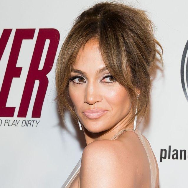 La frange rideau de Jennifer Lopez , Notre envie coiffure du