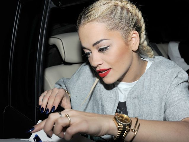 La tresse indienne de Rita Ora