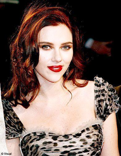cheveux brun-roux