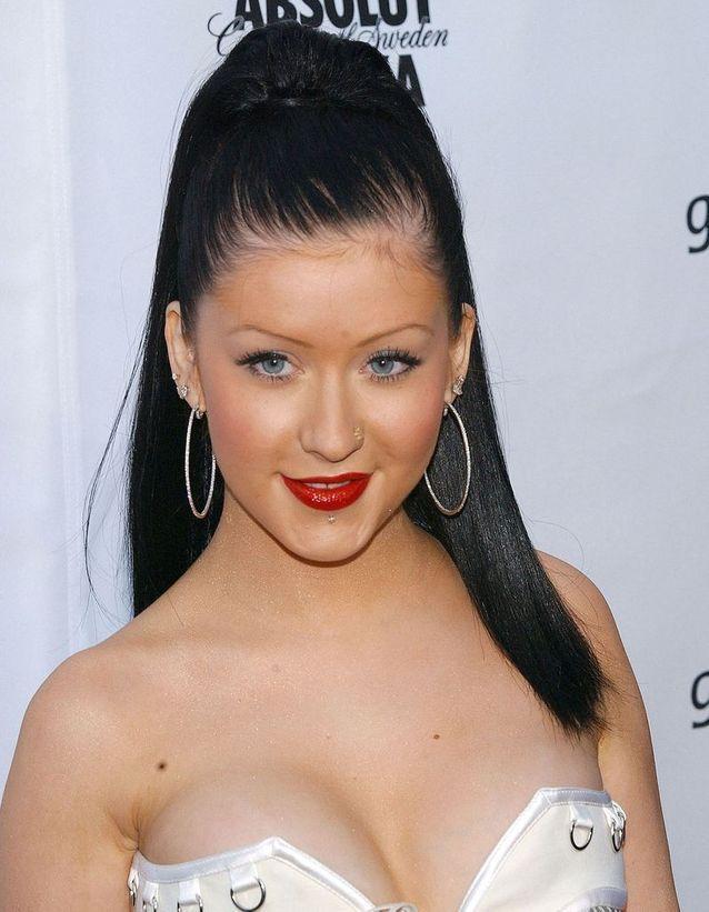Christina Aguilera en brune