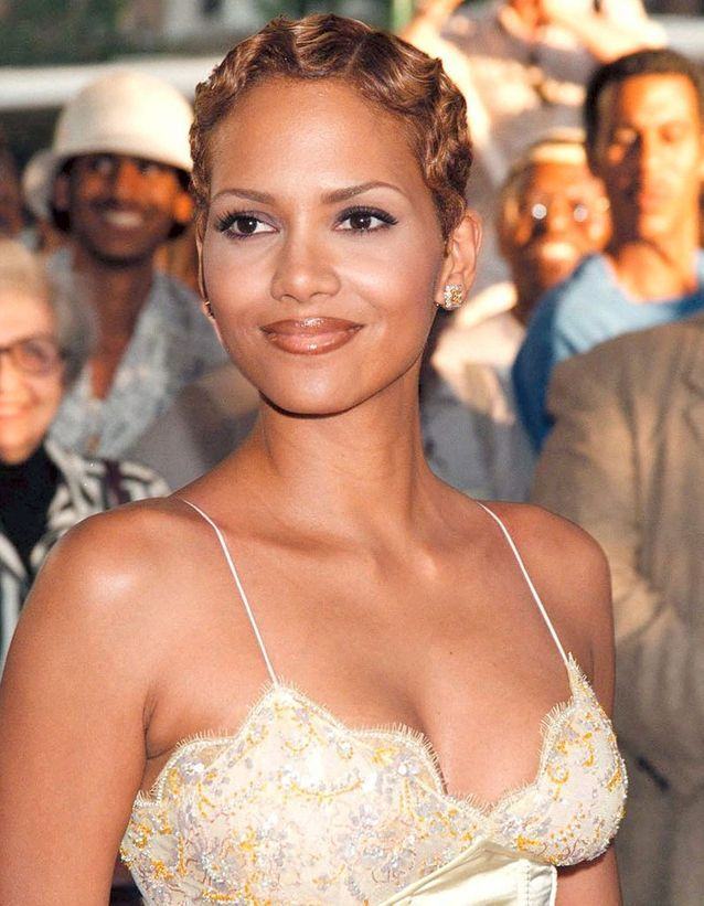Halle Berry en blonde