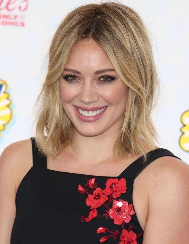 Hilary Duff en blonde