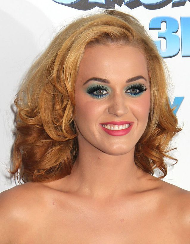 Katy Perry en blonde