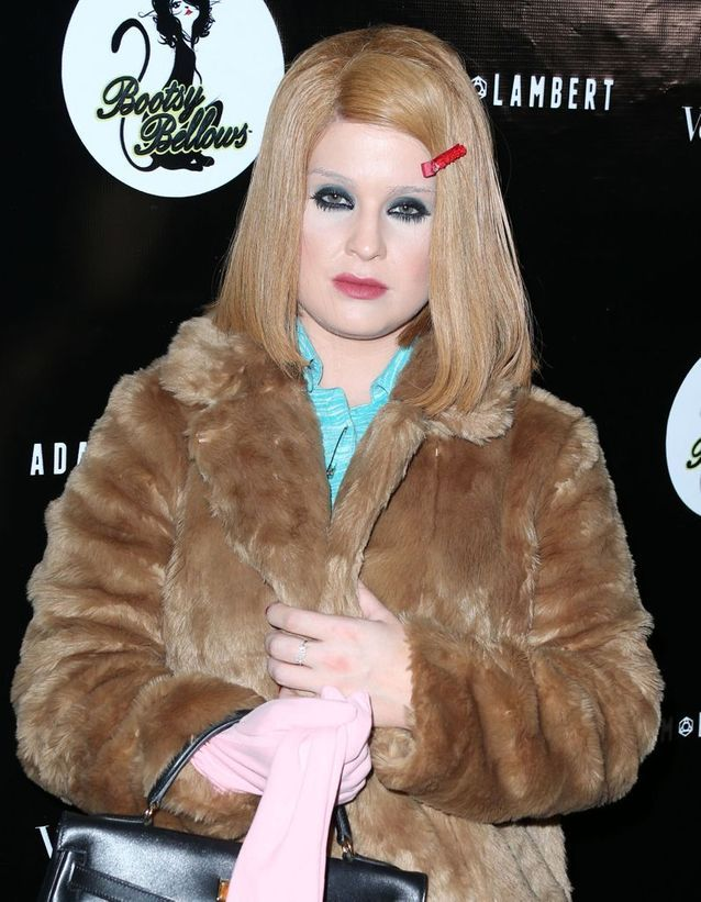 Kelly Osbourne en blonde