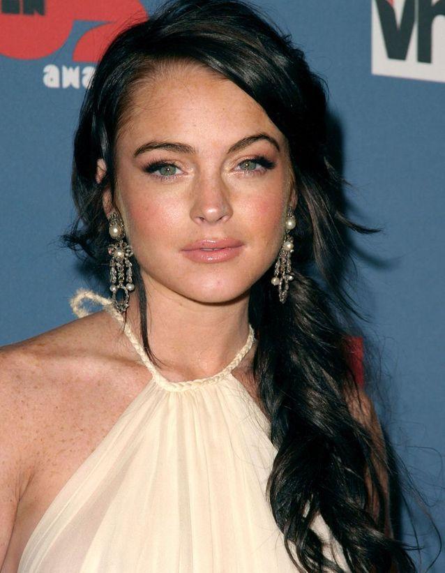 Lindsay Lohan en brune