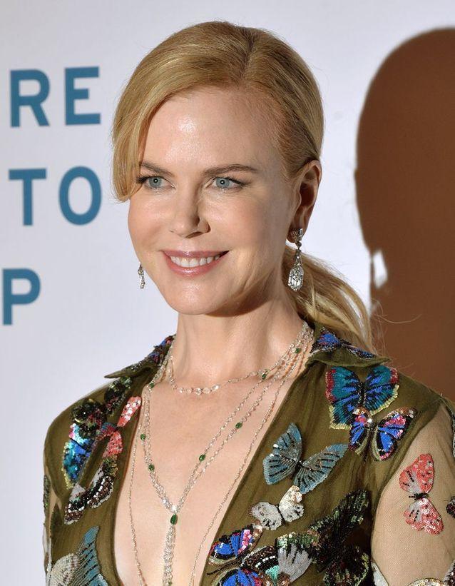 Nicole Kidman en blonde