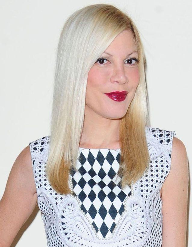 Tori Spelling en blonde