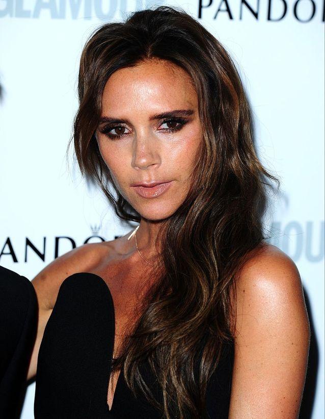 Victoria Beckham en brune
