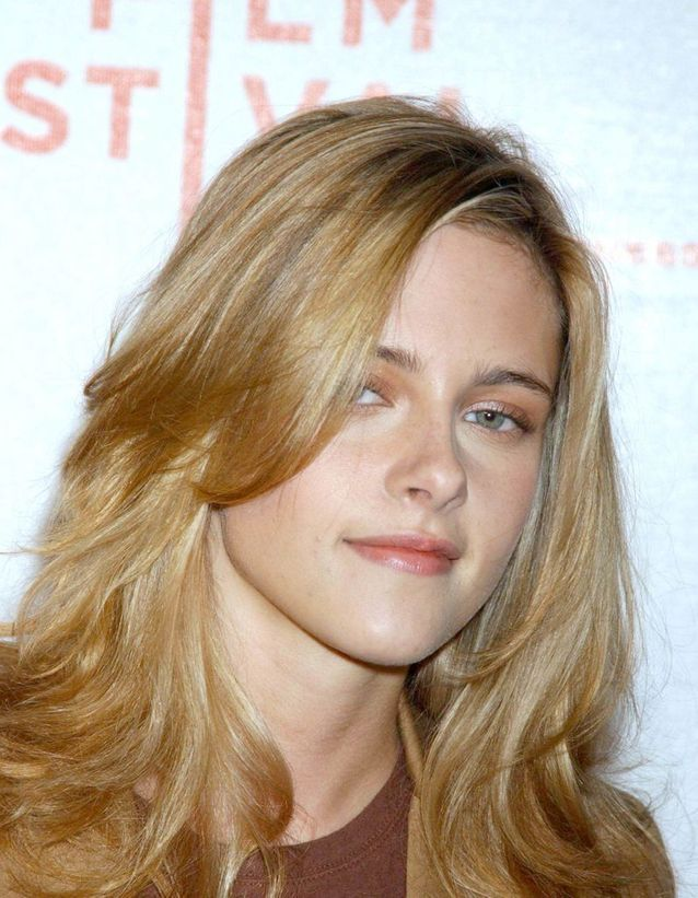 Kristen Stewart en blonde