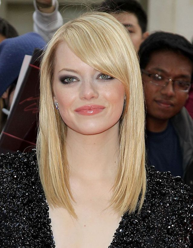 Buttery blonde : Emma Stone