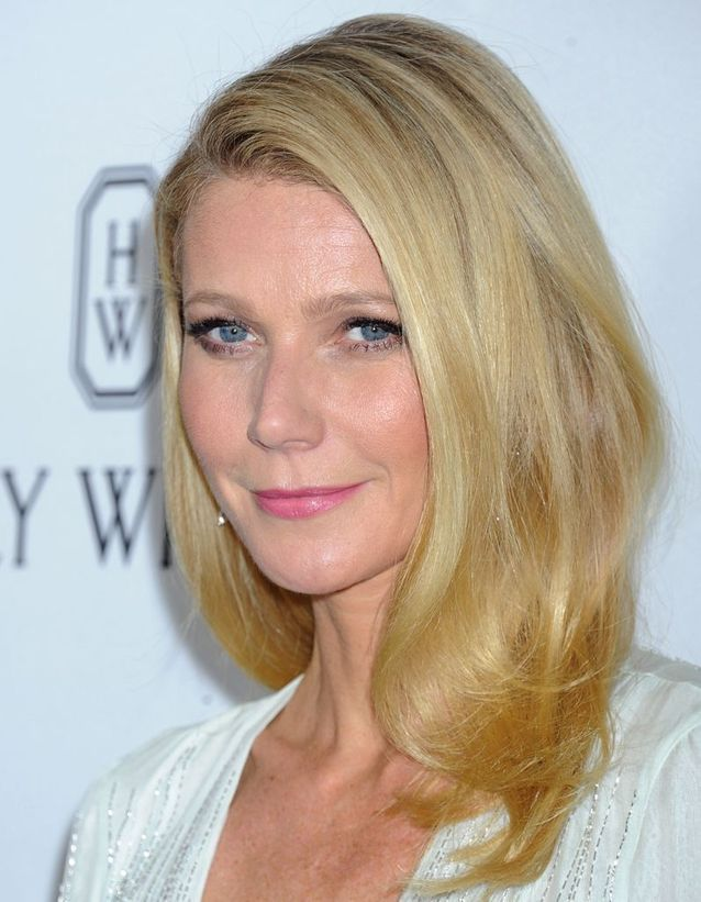 Buttery blonde : Gwyneth Paltrow
