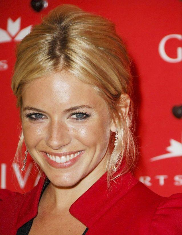 Buttery blonde : Sienna Miller