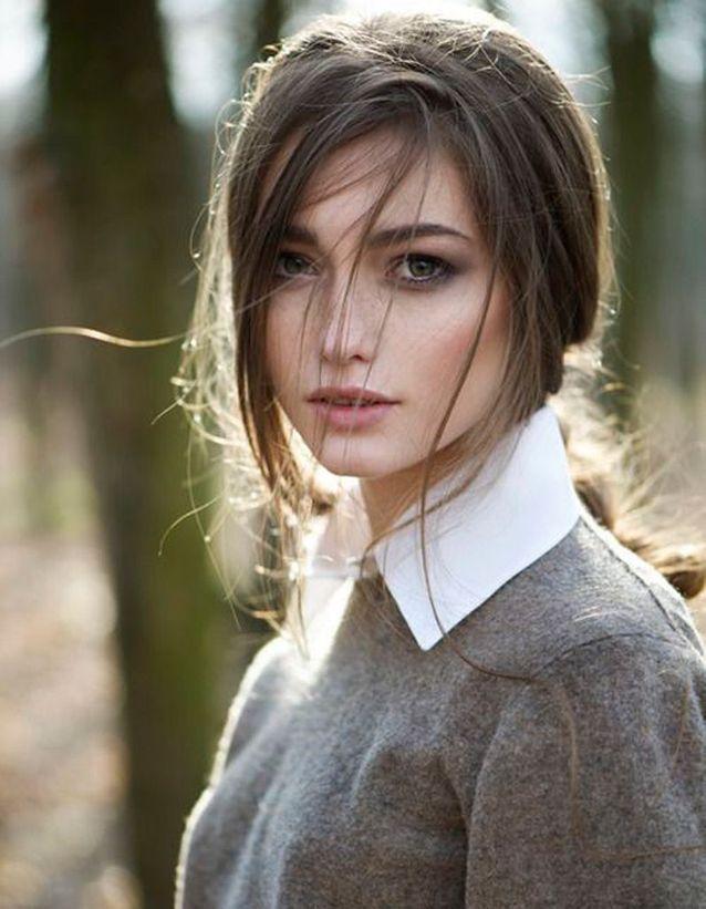 Cheveux brun clair