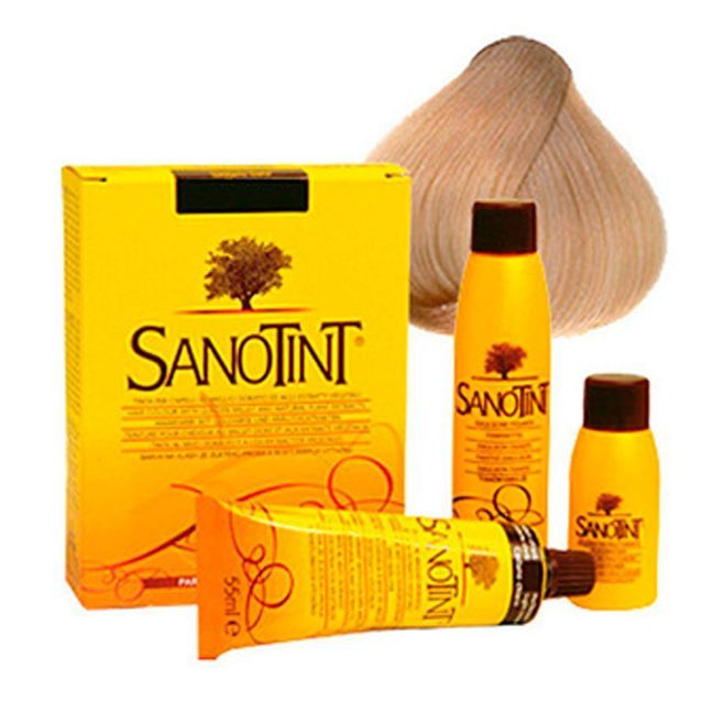 Coloration pour cheveux, Sanotint