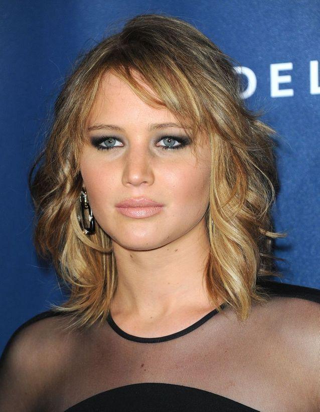 Les Cheveux Châtain Clair De Jennifer Lawrence