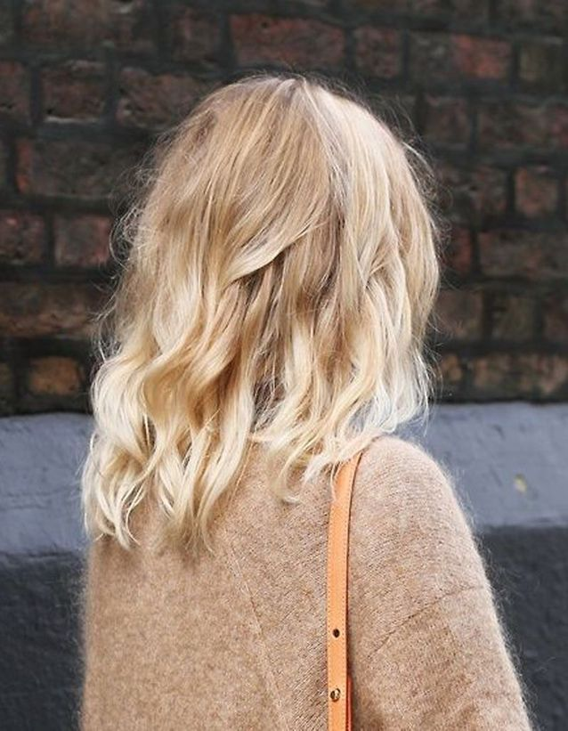 Ombré hair blond