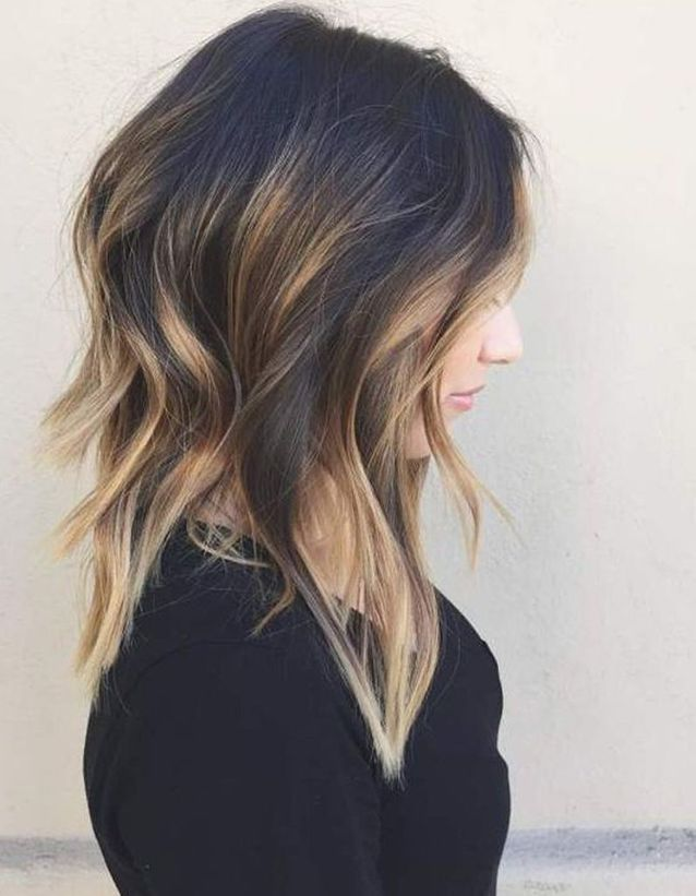 Ombré hair carré